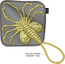 "Cosmic Loot Crate Alien Facehugger 11"" Square Face Towel Wash Cloth"