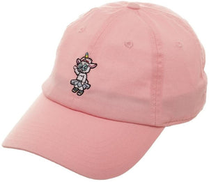 Rick and Morty Quick Turn Tinkles Pink Embroidered Baseball Hat Ball Cap