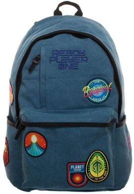 Bioworld Ready Player One Character Inspired Patches Denim Backpack