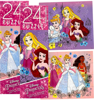 Disney Princess Series Tower Puzzle Gifts Set, Pack of 2