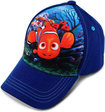 Disney Finding Nemo Character 3D Pop Baseball Cap Toddler Hat Age 2-4
