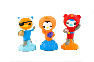 Octonauts Fisher Price The Bath Squirters - Kwazii, Barnacles and Peso (3 Pack)