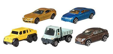 MBX Matchbox Mercedes Benz AMG Limited Edition 5 Pack SLR McLaren, CLS 500, 6x6, Unimog G-Class