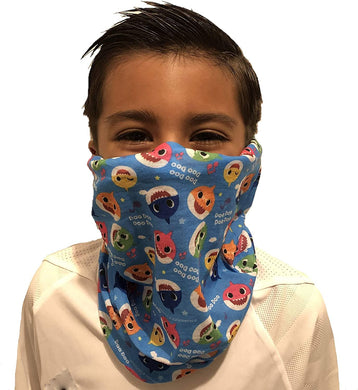 Kids Licensed Multifunctional Face Cover Neck Gaiter Balaclava for Girls Boys Children