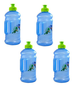 [4-Pack] PJ Masks Kids 15.5oz Pull-Top Squirt Sports Water Jug Bottles, BPA-Free