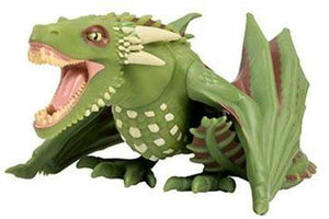 "Titan Merchandise Game of Thrones Green Rhaegal Glow-in-The-Dark 4.5"" Dragon"