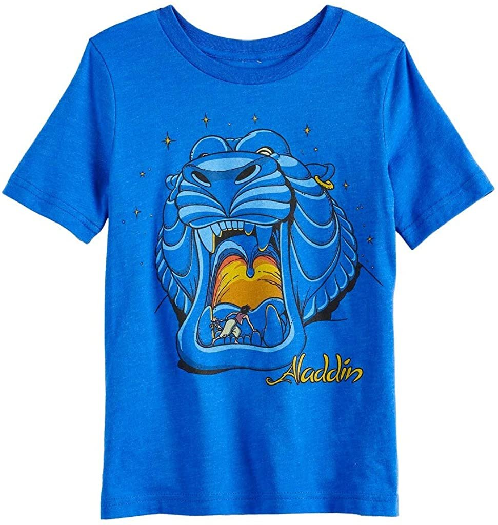 Boys 4-12 Disney's Aladdin Tiger Cave Tee by Jumping Beans, Blue