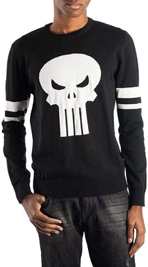 Marvel's Punisher Skull Sweater-X-Large Black