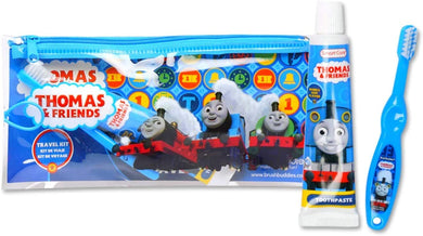 Brush Buddies Thomas and Friends Toddler Toothbrush & Toothpaste Travel Kit