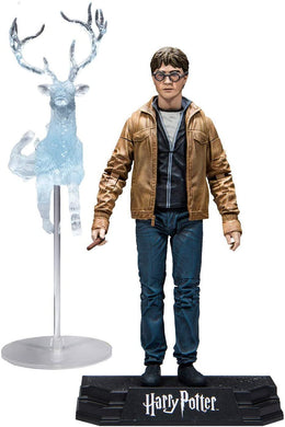 McFarlane Toys Harry Potter Deathly Hallows Detailed Action Figure with Stag Patronus