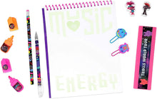 Trolls World Tour Stationary School Supplies Set with Erasers, Notebook & More