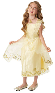 Disney Beauty & The Beast Live Action Belle's Ball Gown Costume Fits sizes 4-6X