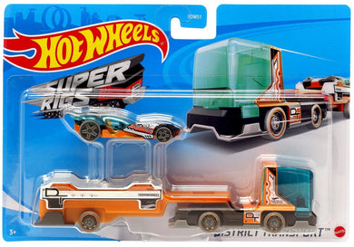 Hot Wheels Super Rigs 2021 District Transport Sky Dome Die Cast Vehicle Set
