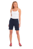 Ladies Linen Shorts (3665)