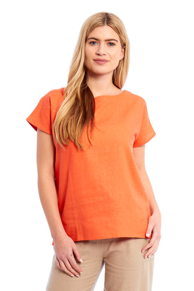 Ladies Linen Top (3805)