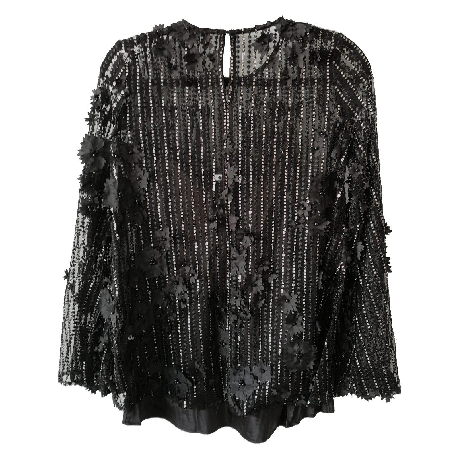 Twilight Turns Sequin Tunic Top Size XS