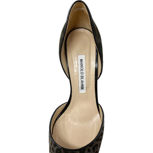 Manolo Blahnik D'Orsay Pointed Pumps Size EU 39