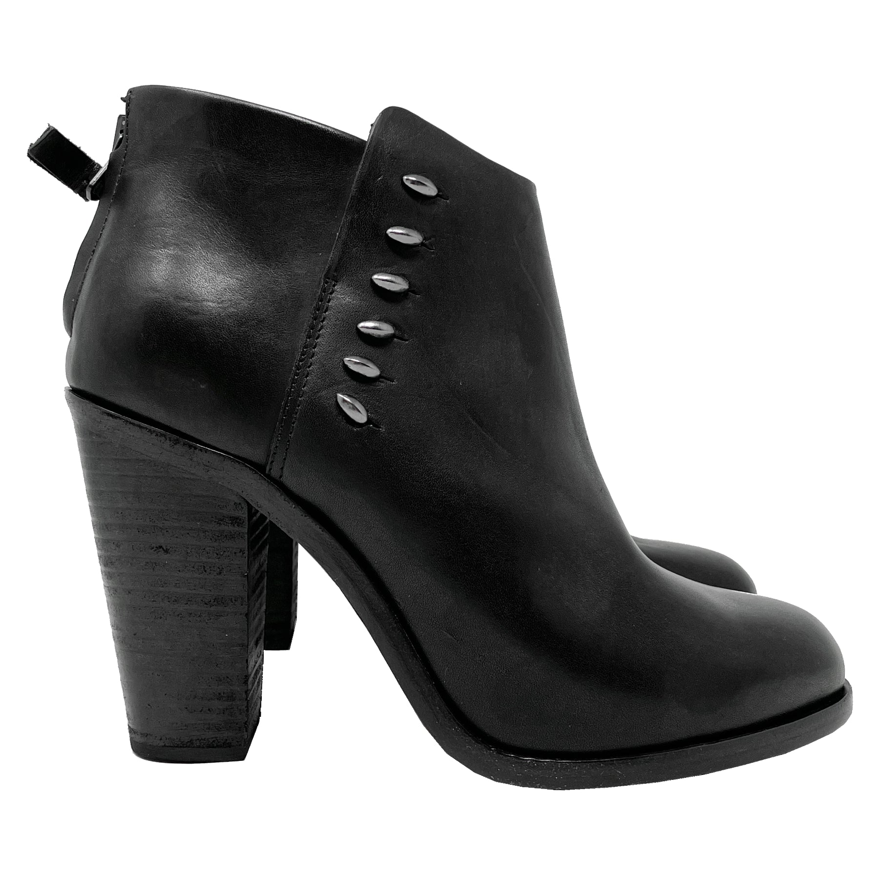 Rag and Bone Alwyn Leather Ankle Boots Size EU 40