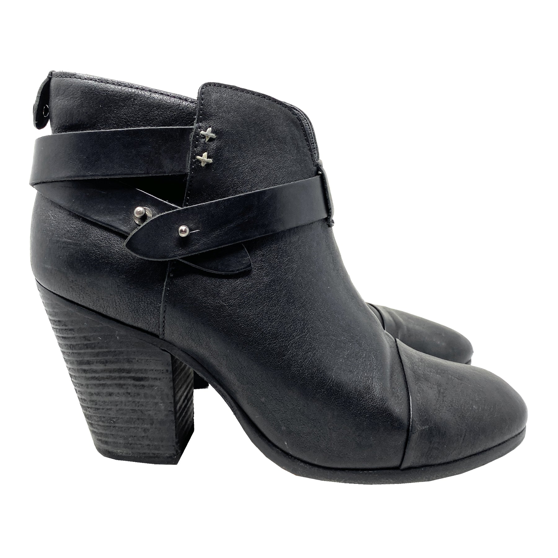 Rag and Bone Harrow Leather Ankle Boots EU 39