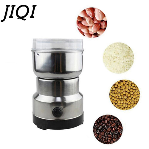 Mini Coffee Bean Grinder in Stainless Steel