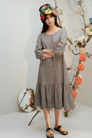 Tess Jacquard Gail Dress