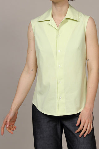 Weekend Linen Bloom Top - Cement