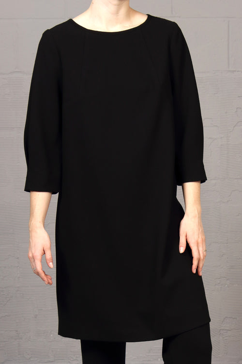 Japanese Tech Adam Dress - Black