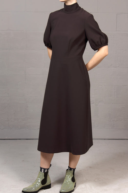 Japanese Tech Toyah Dress - Grey