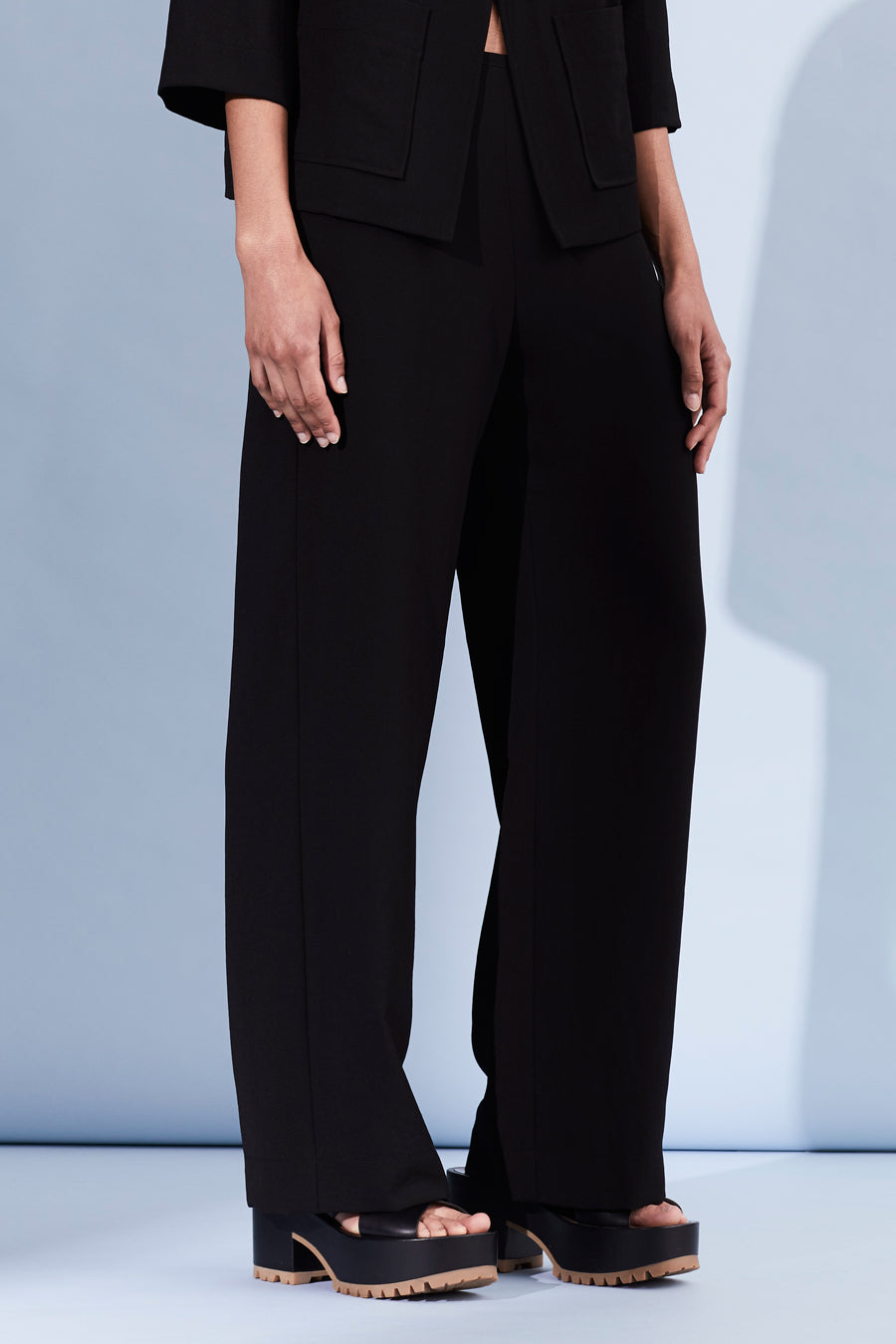 Liza Crepe Lined Coby Pant - only xsm left!