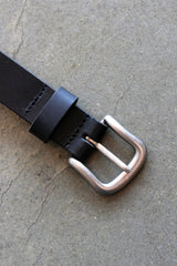 Shoot Buckle Leather Belt