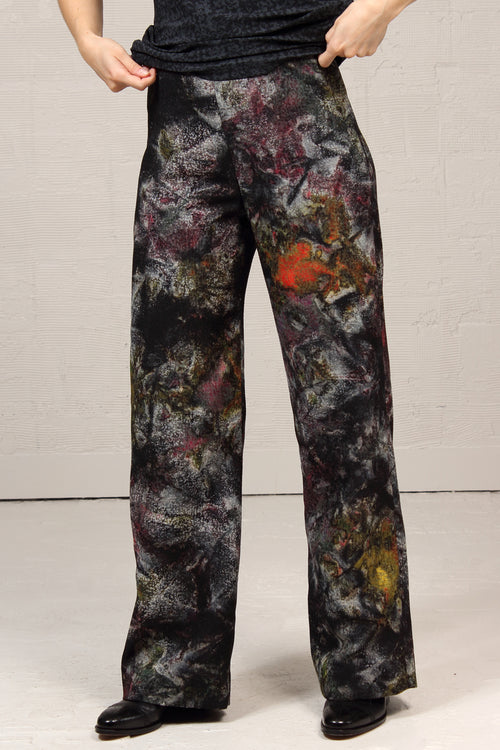 Topographic Jacquard Lined Coby Pant - speckled