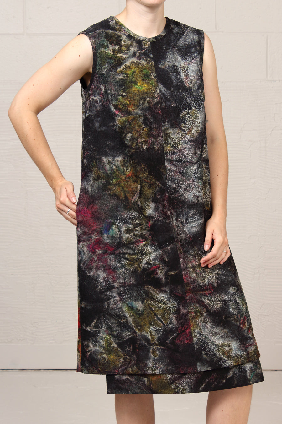 Topographic Jacquard Manning Dress - speckled - xsm, sml, lrg