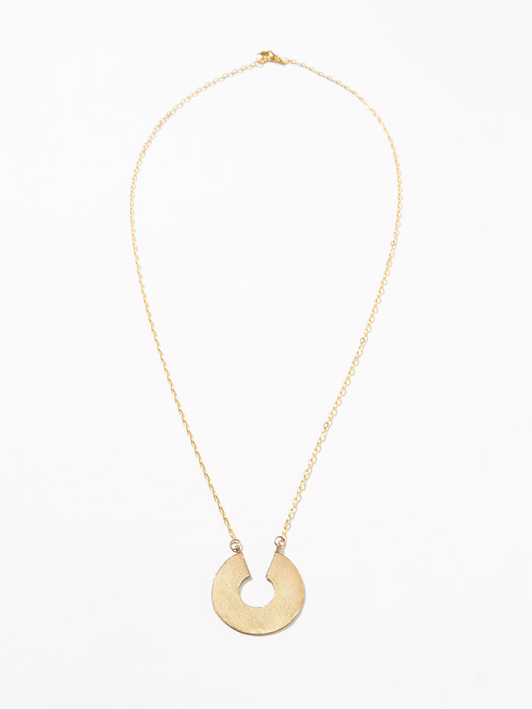 Cassius Necklace- Brass or Silver