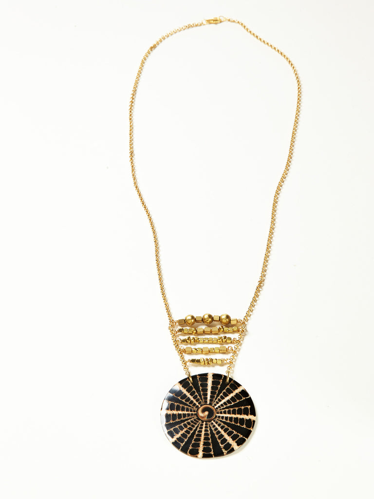 Java Necklace- Black