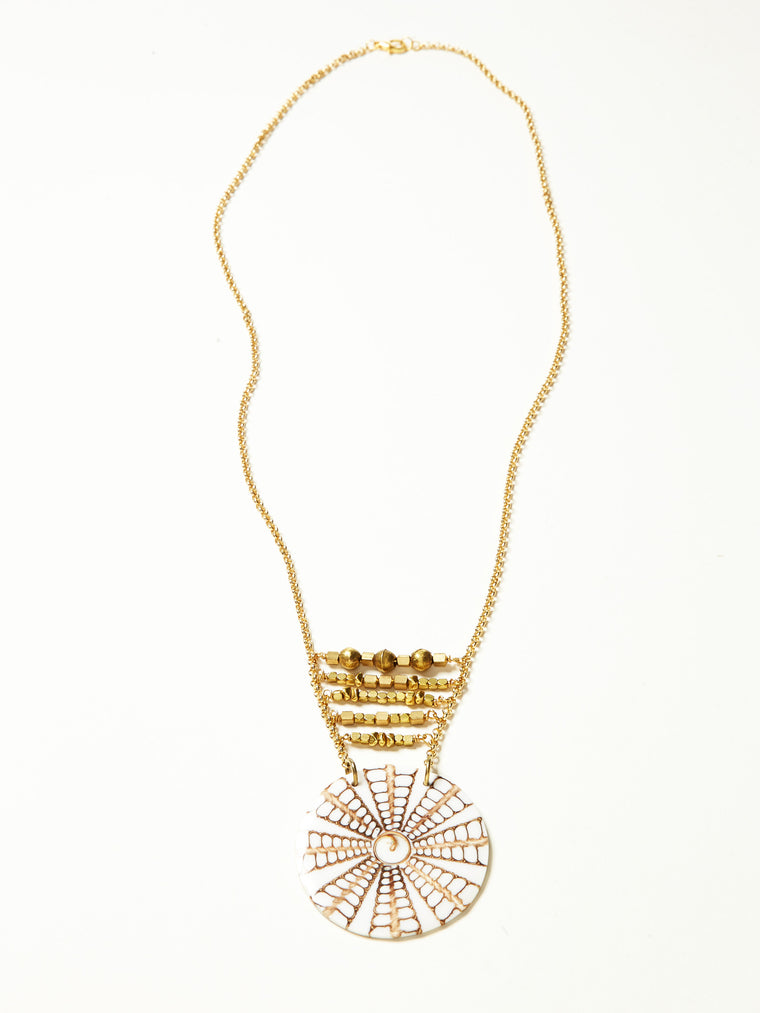 Java Necklace- White