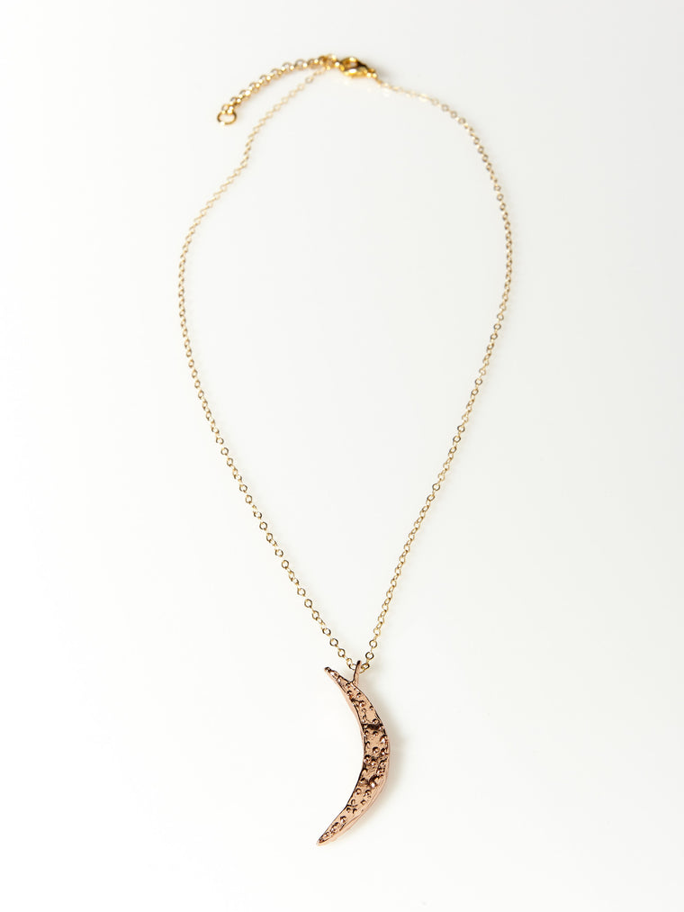 Luna Necklace- Rose Gold