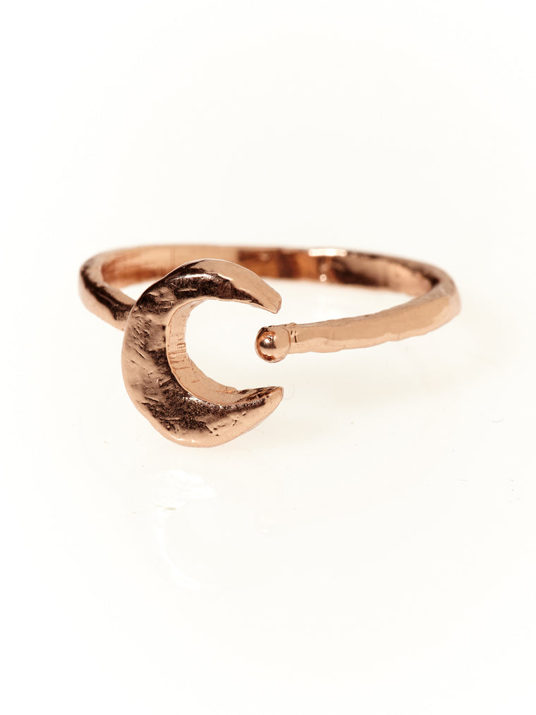 Moonshine Ring- Rose Gold