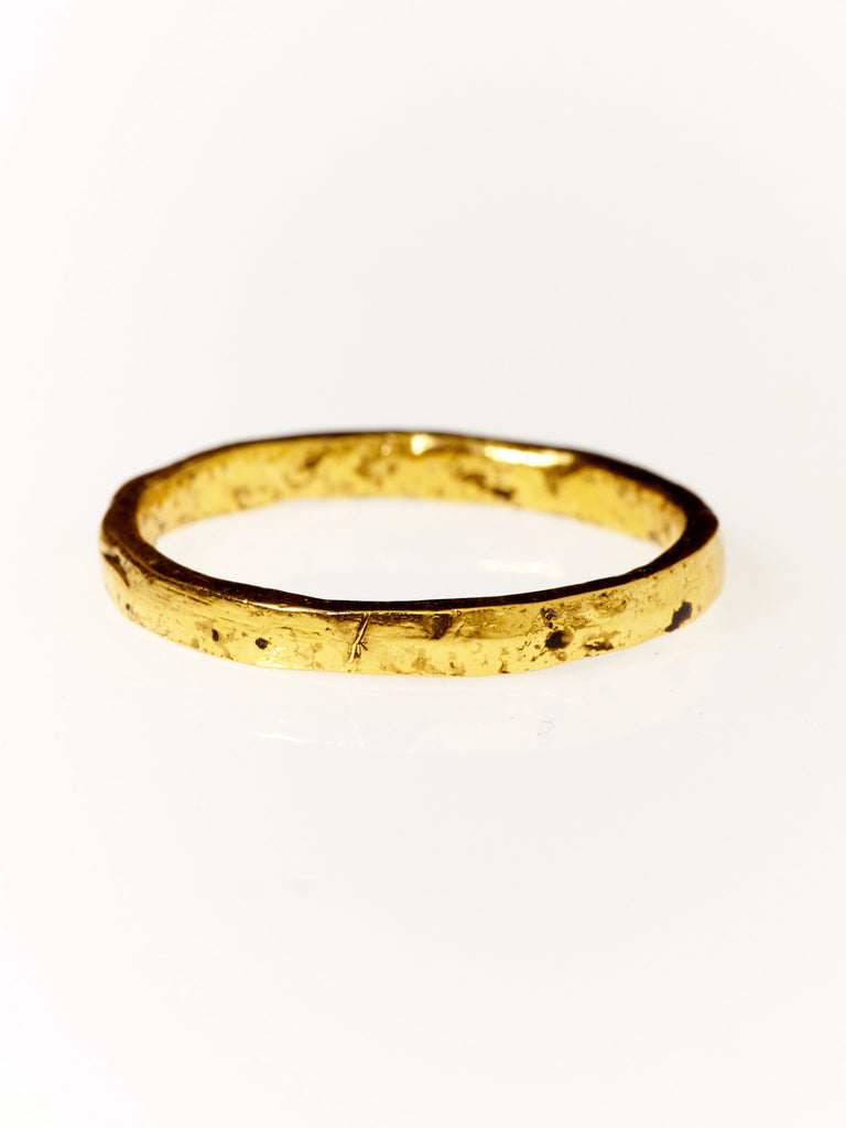Solstice Stacker Ring- Gold