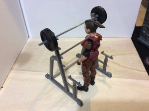 Squat Rack (1:18 scale)
