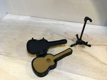 Guitar, case, and stand set