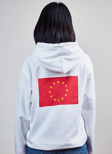 People's Republic of Europe Hoodie - Red Europe