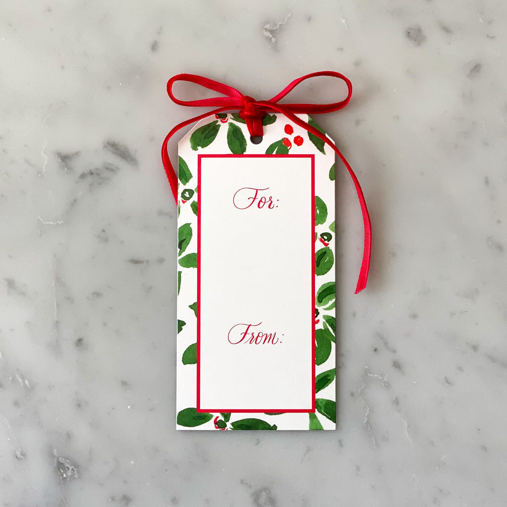 Holiday Gift Tags | Alexandra Williams Design