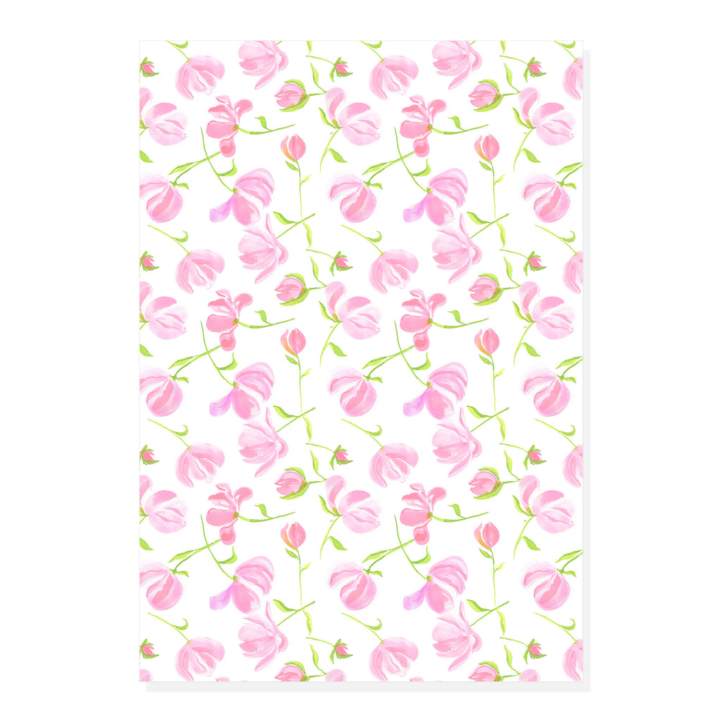 Peony Wrapping Paper | Double Sided