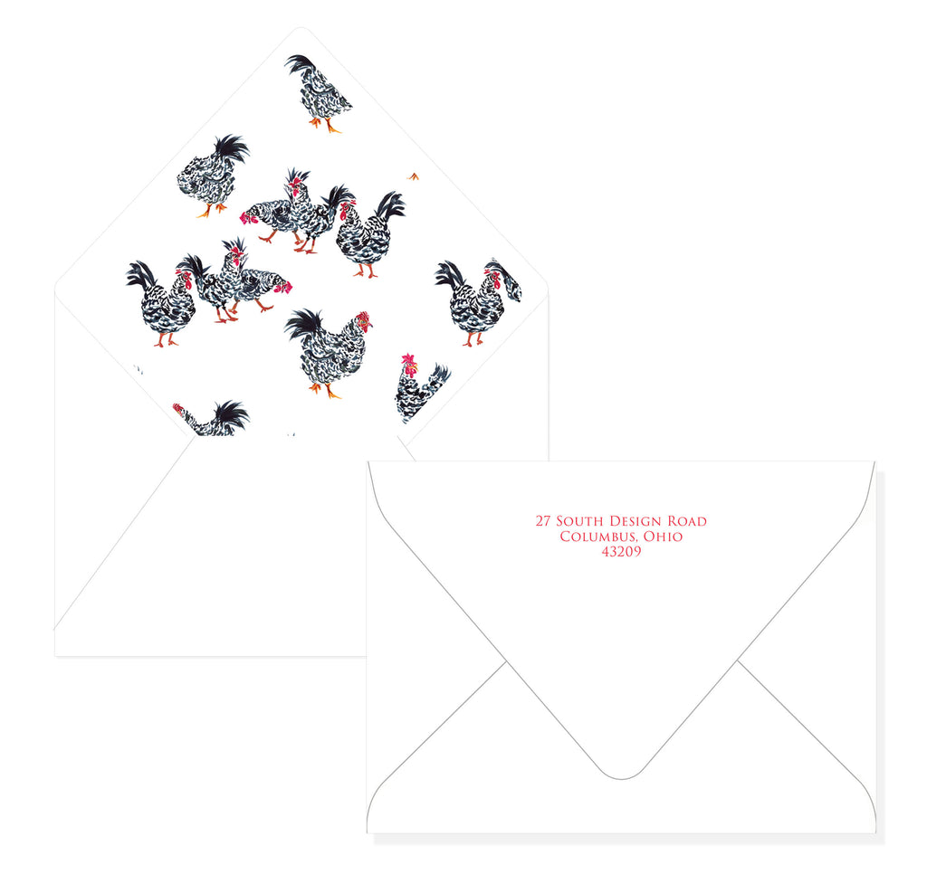 Hen Stationery