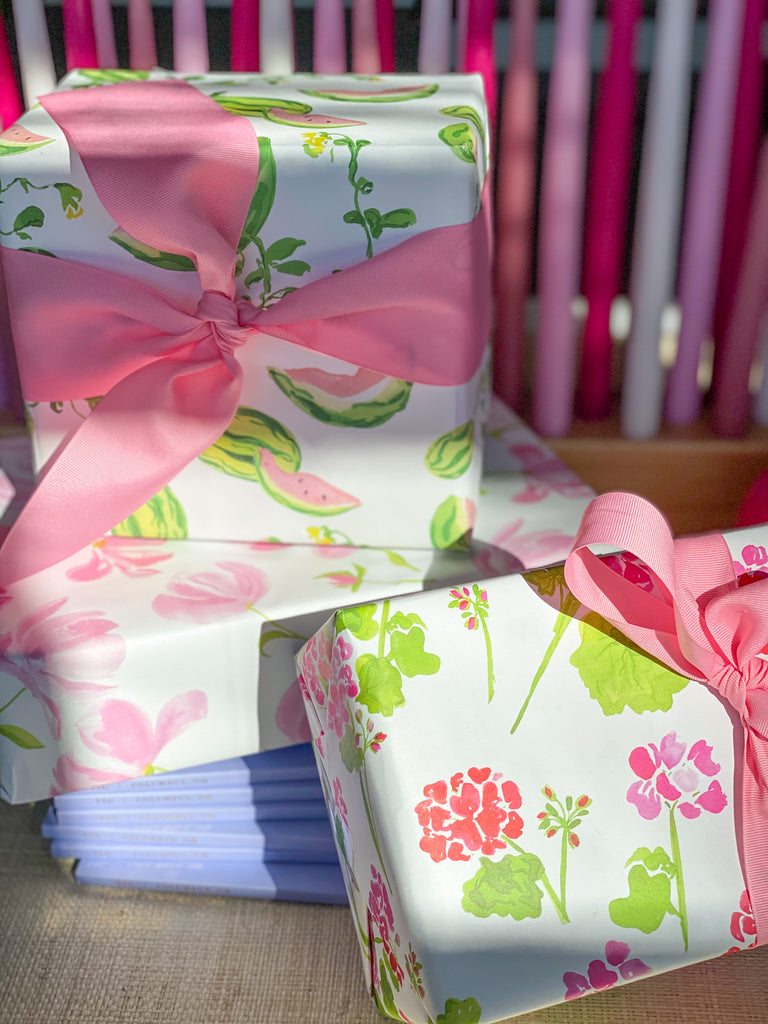 Geranium Wrapping Paper