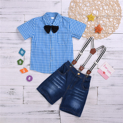 Suspender 4 Piece Set