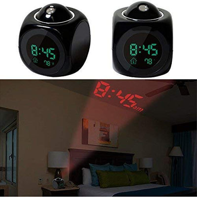 Voice Projection Alarm Clock