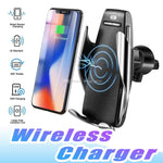 Automatic Wireless Car Charger and Mobile Phone Holder