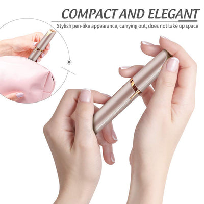 Flawless Painless Eyebrow trimmer - with inbuilt LED light