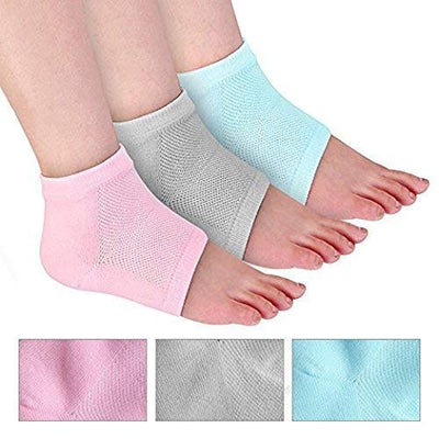 Moisturizing Gel Heel Socks for healing Hard Crack & Pain Relief